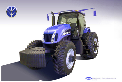Tractor Wheels Concept : New holland tractor